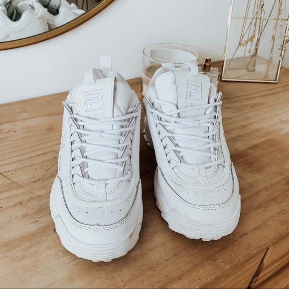 17b6e18cf55 Fila Shoes - FILA Disruptor 2 Premium Mono Sneaker 6 1 2